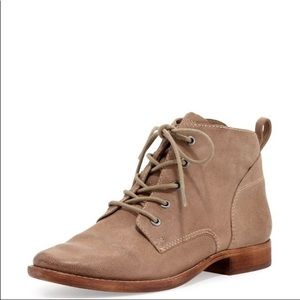 Sam Edelman lace up desert leather booties